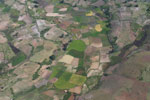 Aerial view of rice paddies outside of Fort Dauphin [madagascar_3080]