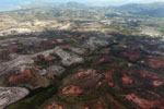 Aerial view of erosion in southern Madagascar [madagascar_3092]