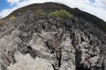 Fish-eye view of the tsingy