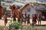 Children in a village in the Tsaranoro Valley [madagascar_5985]