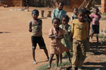 Children in a village in the Tsaranoro Valley [madagascar_5987]