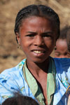 Girl in a Tsaranoro Valley village [madagascar_5993]