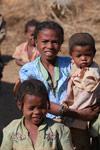 Girl in a Tsaranoro Valley village [madagascar_5994]