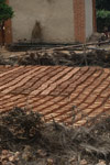 Bricks drying in a village in the Antanifotsy Valley [madagascar_6130]