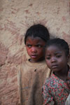 Kids in an Antanifotsy Valley village
