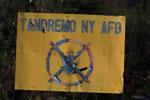 No fire sign ('Tandremo ny Afo') near Andringitra