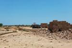 Brick-making near Tulear [madagascar_7575]