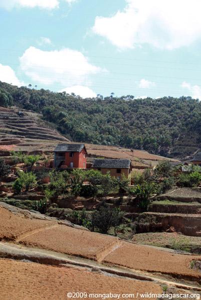 Small village in Madagascar