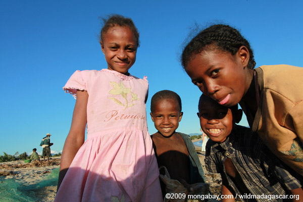 Children in Madagascar. Photo by: Rhett A. Butler.