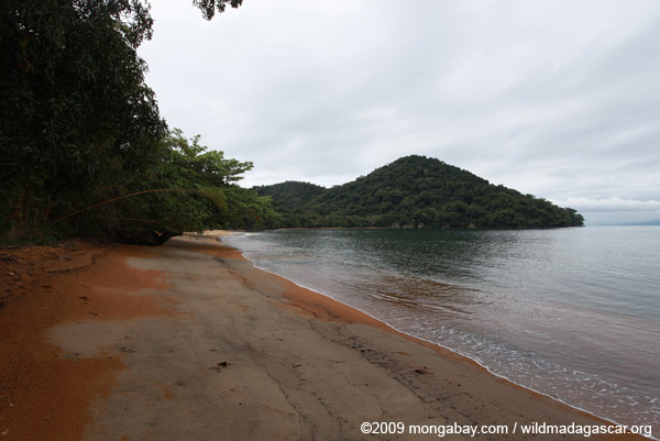 Nosy Mangabe beach