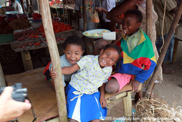 Children in Maroantsetra