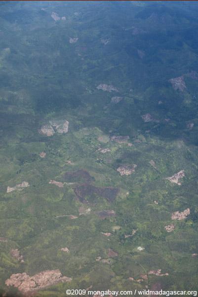 Deforestation in Makira