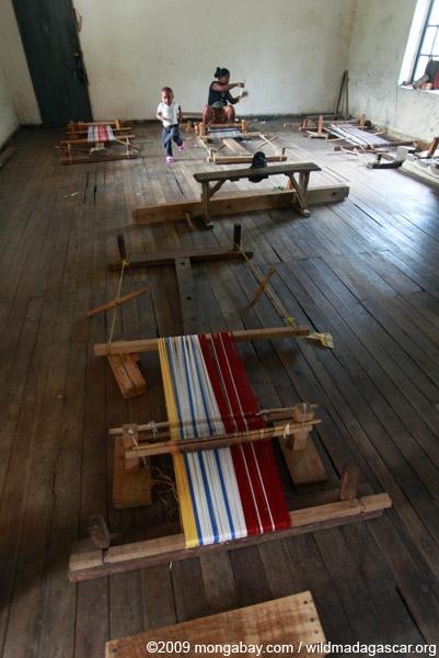 Women's weaving cooperative in Ranomafana