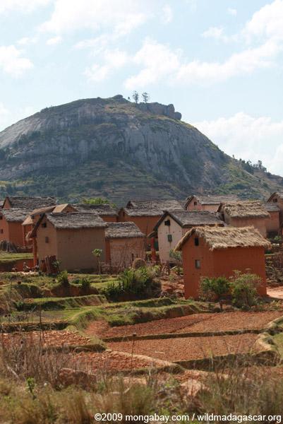Village near Fianarantsoa