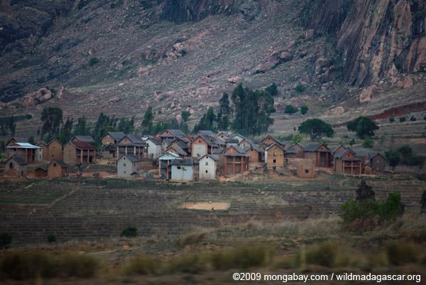 Village near Anja