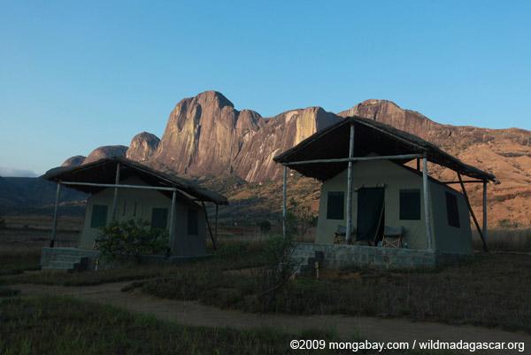 Tsara Camp tents