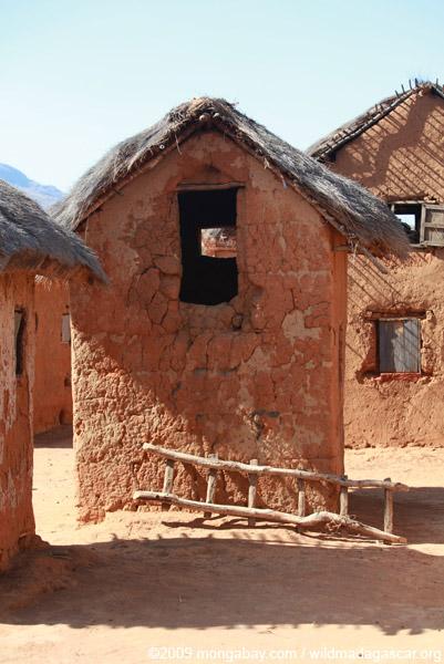 Village in the Tsaranoro Valley