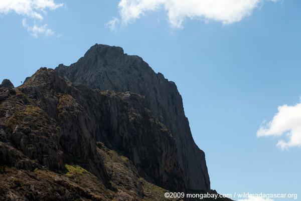 Rock face in the Antanifotsy Valley