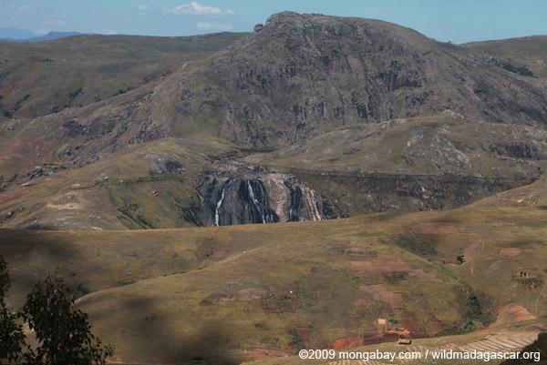 Waterfall in the Antanifotsy Valley