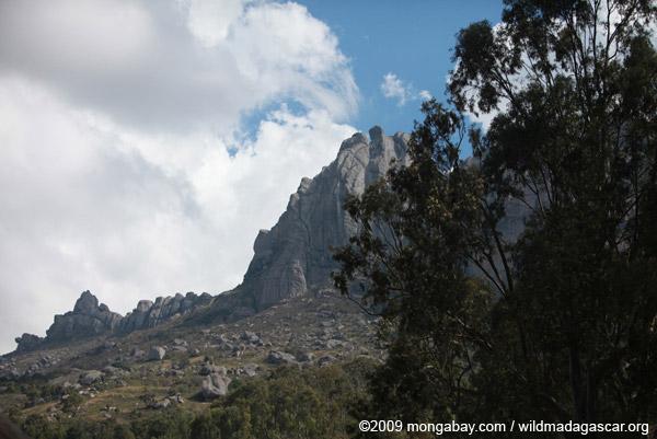 Peak in the Antanifotsy Valley