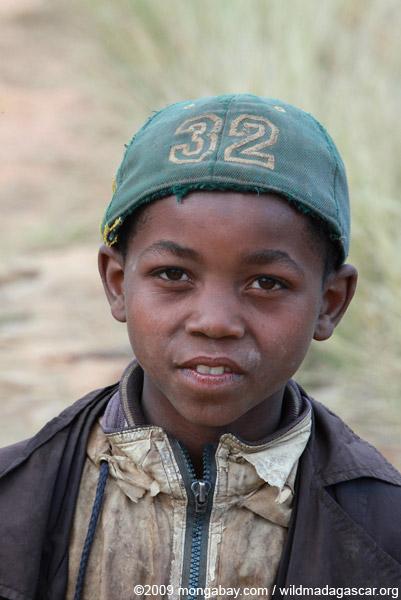 Boy in the Antanifotsy Valley