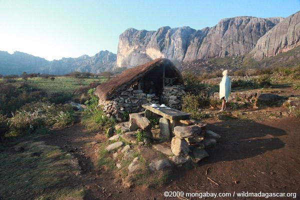 Camp site in Andringitra