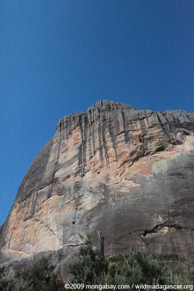 Andringitra cliff