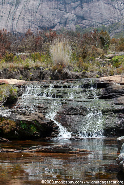 Small Andringitra waterfall