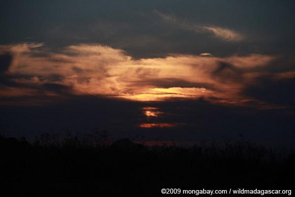 Andringitra sunset