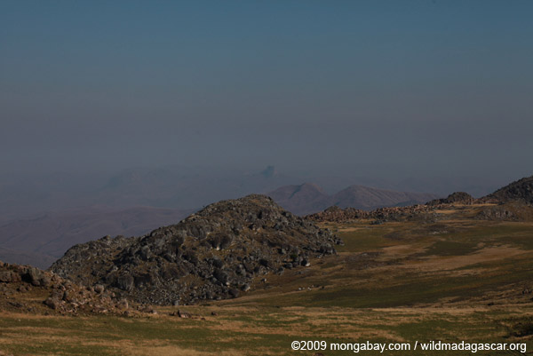 View towards Mororano