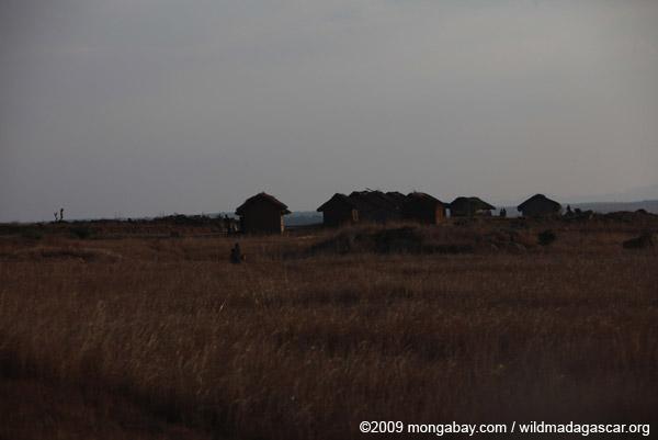Village on the Horombe Plateau