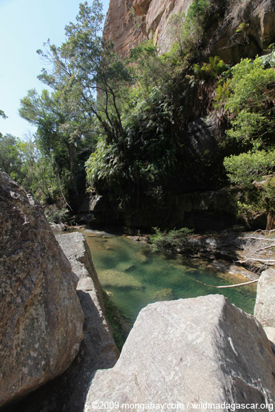 King's pool for which Ranohira is named