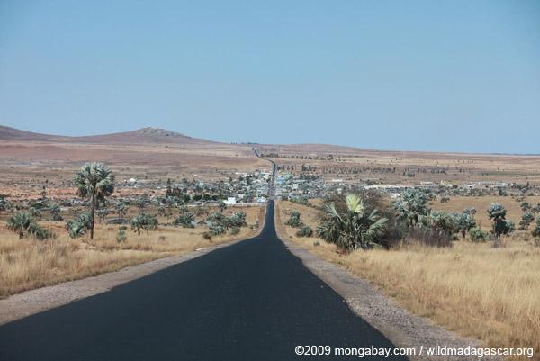 Ilakaka, a sapphire mining town in southwestern Madagascar
