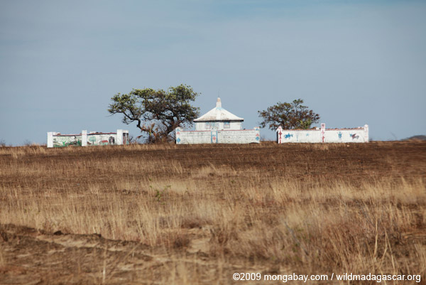 Tombs in western Madagascar