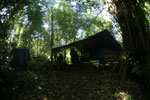 Wildlife ranger camp in Borneo