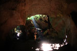 MESCOT guide in Batu Putih cave -- sabah_3444