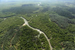 Oil palm plantation and mangroves in Borneo -- sabah_aerial_0020
