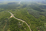 Oil palm plantation and mangroves in Borneo -- sabah_aerial_0021