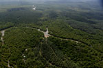Oil palm plantation and mangroves in Borneo -- sabah_aerial_0025
