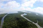 Borneo rainforest river -- sabah_aerial_0041