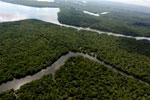 Borneo rainforest river -- sabah_aerial_0046
