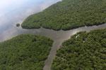 Borneo rainforest river -- sabah_aerial_0047