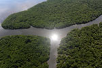 Borneo rainforest river -- sabah_aerial_0049