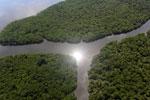 Borneo rainforest river -- sabah_aerial_0050