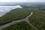 Borneo rainforest river -- sabah_aerial_0051