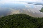 Borneo rainforest river -- sabah_aerial_0053