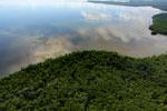 Borneo rainforest river -- sabah_aerial_0054