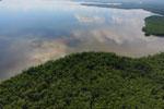 Borneo rainforest river -- sabah_aerial_0055