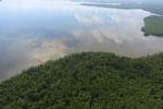 Borneo rainforest river -- sabah_aerial_0056