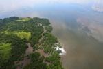 Borneo rainforest river -- sabah_aerial_0057